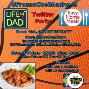 FrozenChefMadness LOD Twitter Party Grapic