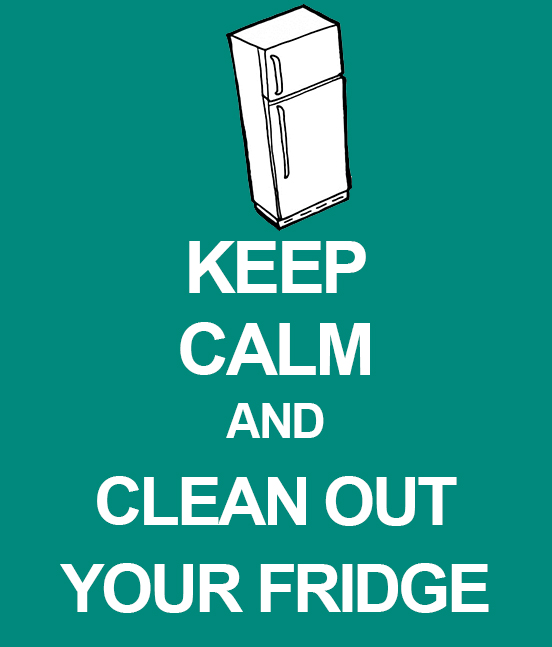 Clean Office Kitchen Signs: Spring Into Action: Freshen Your Fridge & Freezer