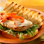 Grilled Chicken & Peppers Sandwiches