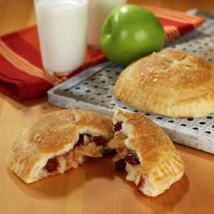 Spiced Apple-Cranberry Biscuit Pie