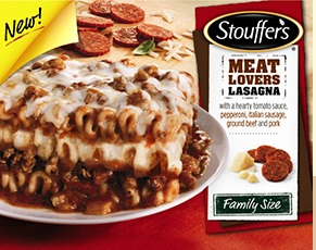 Stouffers Meat Lovers Lasagna