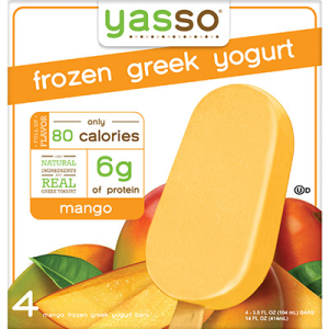 Mango Frozen Greek Yogurt Bar