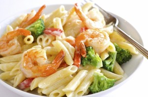 Penne Shrimp and Broccoli