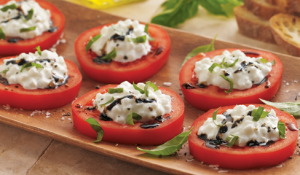 Italian Tomatoes with Herbed Cheese