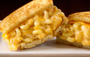 CRYSTAL FARMS grilled mac and cheese