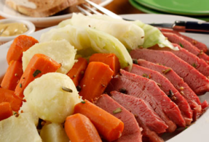 Slow Cooker Corned Beef Cabbage