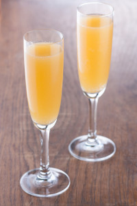 Peaches and Champagne Punch