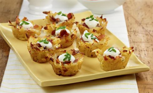loaded potato nests