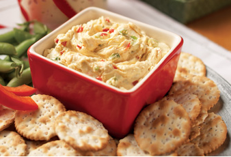 Blue Cheese & Roasted Red Pepper Spread
