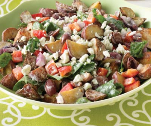 Greek-Style Roasted Potato Salad