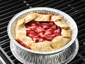Grilled Strawberry Pie