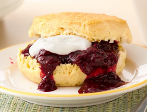 Berry Sauce for Biscuits