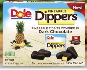 Chocolate Covered Pineapple Dippers