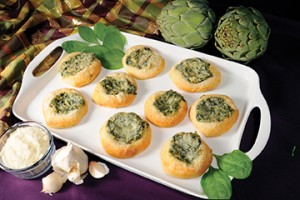 Bridgford Foods Spinach Artichoke Appetizers
