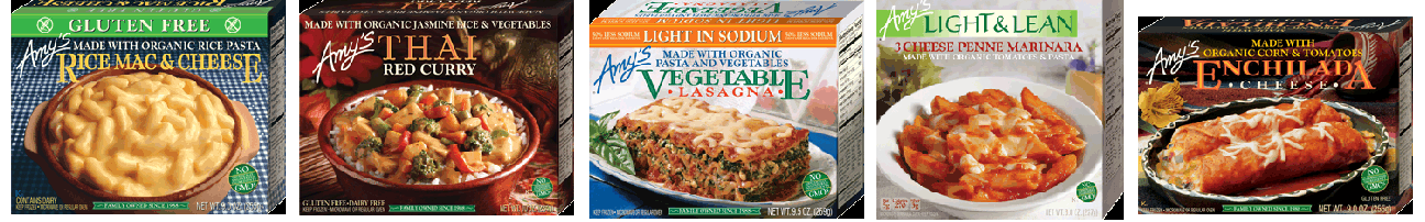 Amy's Kitchen Frozen Entrees