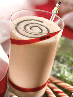 Peppermint Chocolate Frost Smoothie