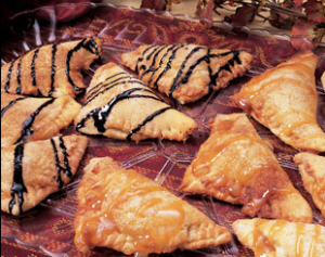 Apple and Chocolate Empanadas