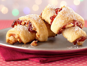 Cherry Almond Rugelach