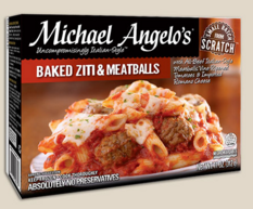 Baked Ziti and Meatballs