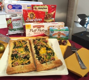 Katie Workman's Puff Pastry Breakfast Egg Tarts