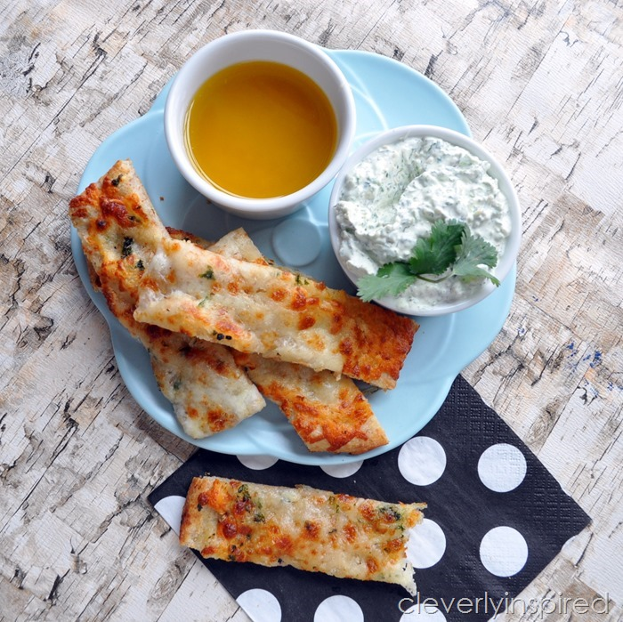 Pizza Sticks with Homemade Dipping Sauces