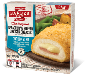 Barber Foods Cordon Bleu