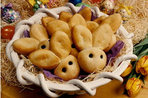 Bridgford Foods Easter Bunny Rolls