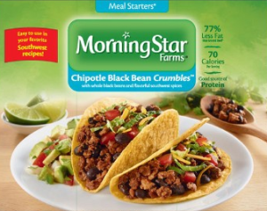MorningStar Farms Chipotle Black Bean Crumbles