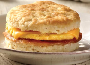 Jimmy Dean Bacon, Egg and Cheese Biscuit Sandwiches