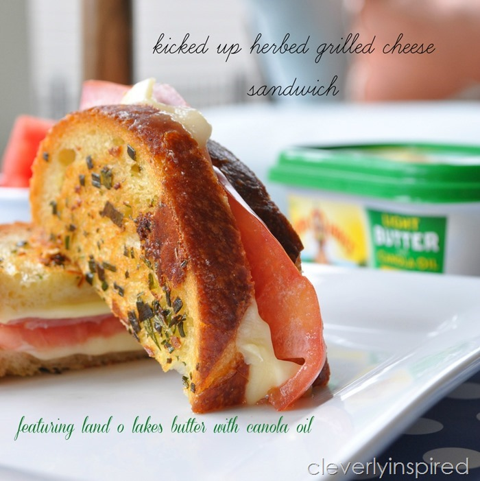 Kicked Up Grilled CHeese