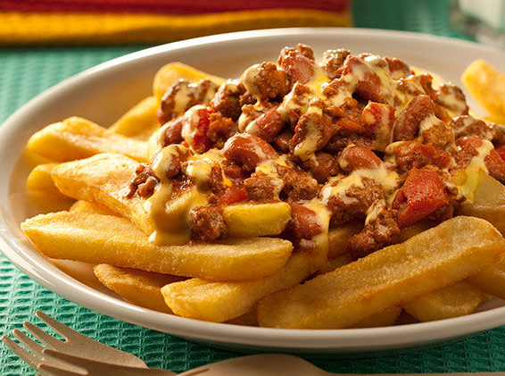 Chilly Cheese Fries
