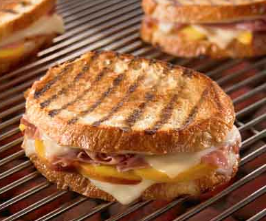 Land O'Lakes Peach and Prosciutto Grilled Cheese