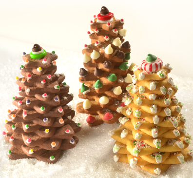 Holiday Cookie Trees