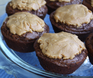Chocolate Peanut Butter Cup Brownies