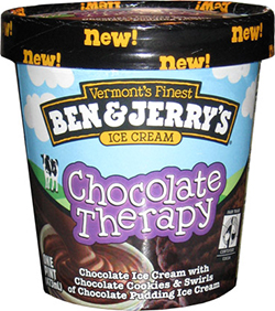 ben & jerrys chocolate therapy