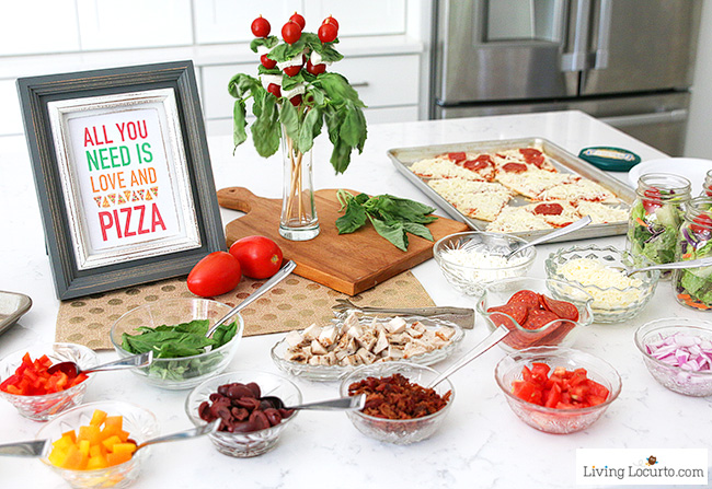 Pizza Party Toppings