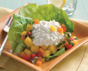 Pineapple, Pepper, and Cheese Salad