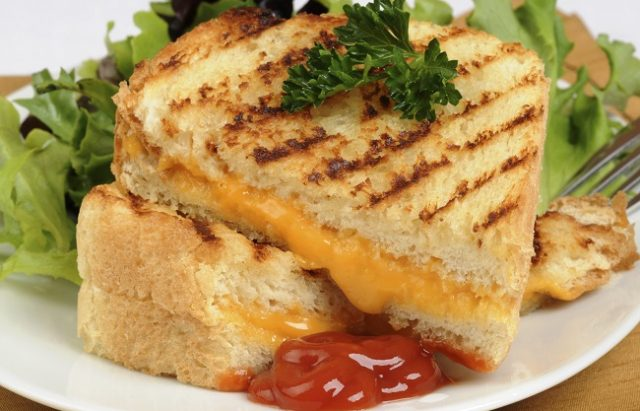 Cheesy Texas Toast Grilled Cheese