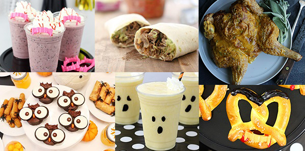 Fall and Halloween Recipes and Ideas