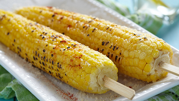 Spicy Mexican Grilled Corn