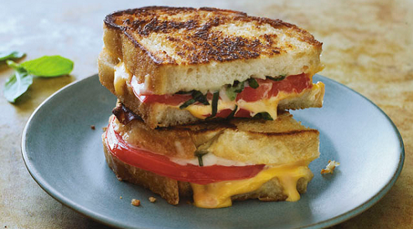 Grilled Cheese Margherita
