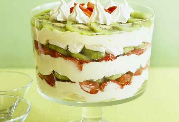 Lemon Kiwi Trifle