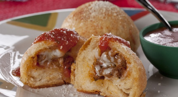 After school Pizza Puffs