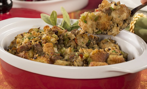 Shortcut Sausage Stuffing