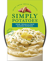 Sour Cream & Chive Mashed Potatoes