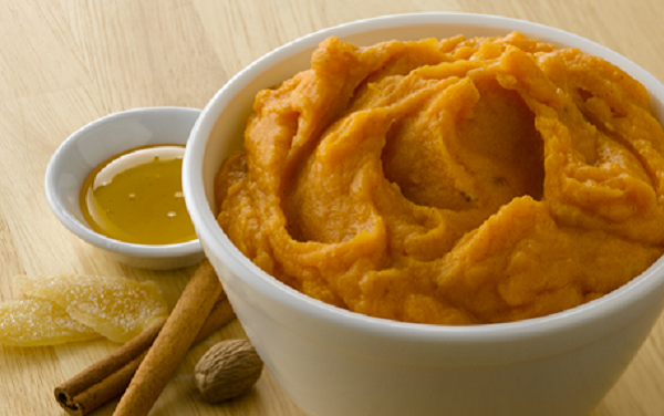 Simply Potatoes Ginger and Spice Mashed Sweet Potatoes