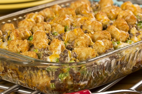 Two Boys Tater Tot Casserole