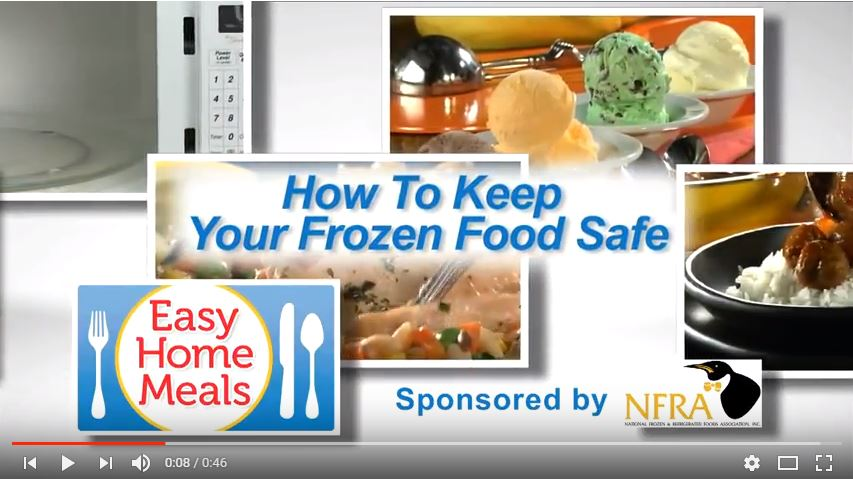 How to Keep Frozen Food Safe