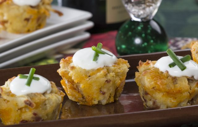 Loaded Baked Potato Cocktail Bites