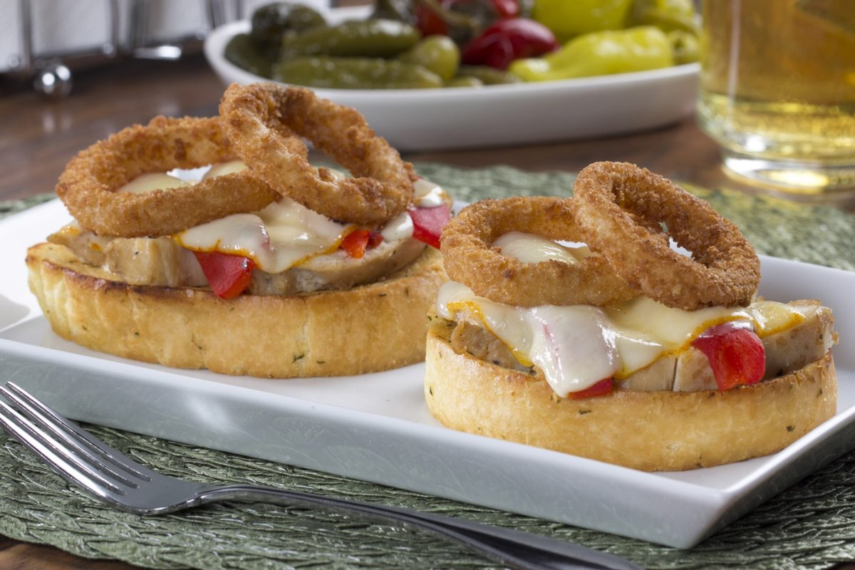 Over-the-Top Chicken Ceasar Melt